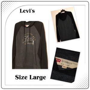 🆕 Men's Levi & Strauss Long Sleeve Hoodie